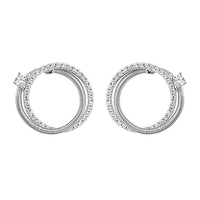 Boucles d'oreilles Jourdan Adagio collection Torsades AOG630