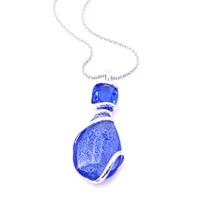 Collier cristal Swarovski et verre de Murano - Andrea MARAZZINI - Collection Venice bleu