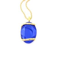 Collier cristal Swarovski - Andrea MARAZZINI - Collection Royal bleu