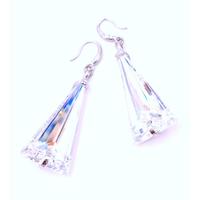 Boucles d'oreilles cristal Swarovski - Andrea MARAZZINI - Collection Spike Aurore Boréale