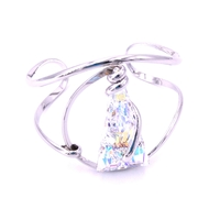 Bracelet cristal Swarovski - Andrea MARAZZINI - Collection Spike Aurore Boréale