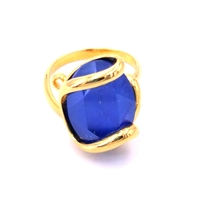 Bague cristal Swarovski - Andrea MARAZZINI - Collection Royal bleu