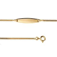 Bracelet bébé PLAQUE OR 702201901