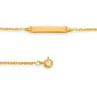 Bracelet bébé PLAQUE OR 2072046