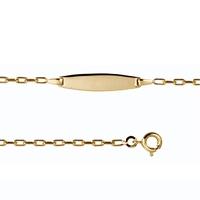 Bracelet bébé PLAQUE OR 702201801