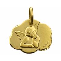 Médaille ange or jaune - Augis 58532