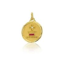 Médaille d'amour or jaune - Augis 00642