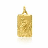 Médaille Saint Christophe or jaune 18 carats - Augis 58513