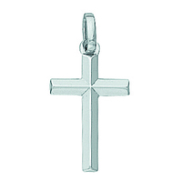 Pendentif croix en or 18 carats 582900