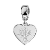 Charms coulissant arbre de vie argent Thabora