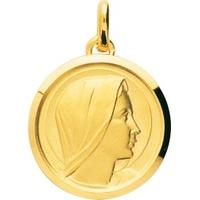 Médaille vierge en plaqué or 106064