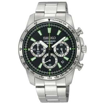 Montre chronomètre homme Seiko SSB027