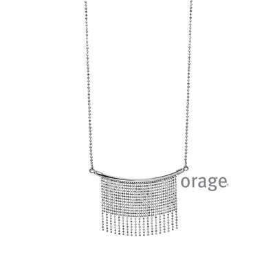 Collier argent Orage AH075