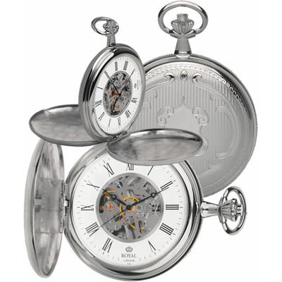 montre gousset mécanique - royal london - 90005-01