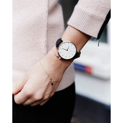 Montre femme Rosefield BOWERY BWBLS-B2 portée