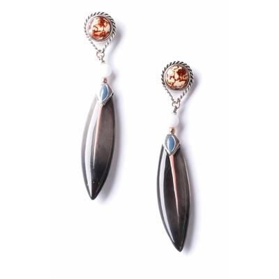 Boucles d'oreilles fantaisie femme Nature Bijoux 12-76262 - lombartbijoux.com