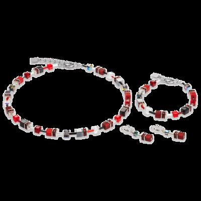 bracelet fantaisie swarovski femme coeur de lion 4014/30-0312 parure-lombartbijoux.com