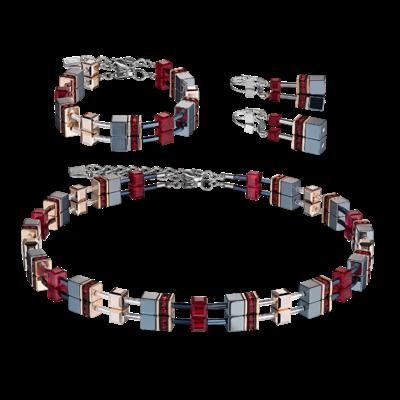bracelet fantaisie swarovski femme coeur de lion 4015/30-0300 parure-lombartbijoux.com