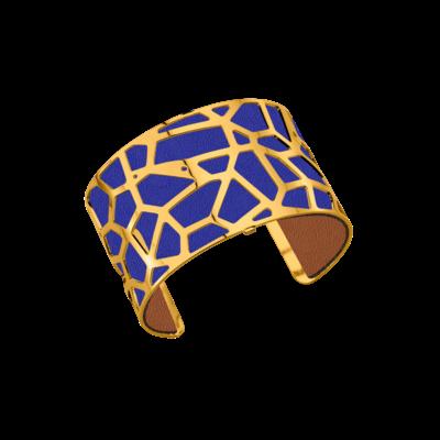 bracelet-girafe-dore-bleu-denim-canyon-lombartbijoux.com