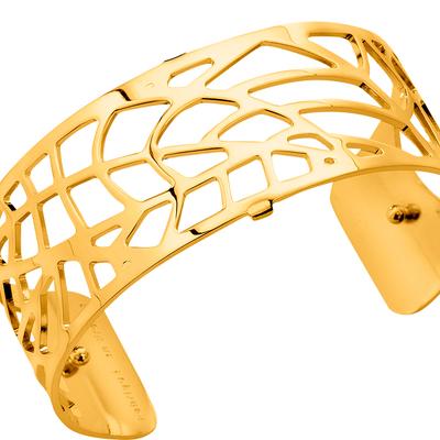 bracelet manchette fougère les georgettes 702840801-25mm-lombartbijoux.com