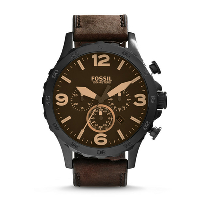 Montre chronomètre Nate JR1487 FOSSIL