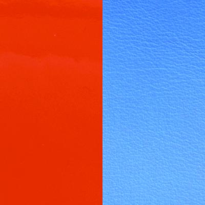 Les Georgettes vinyle Orange/Bleuet pour boucles d'oreilles 16mm