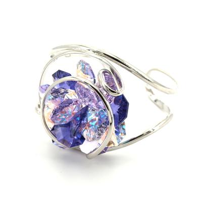 bracelet andréa marazzini flower violet-bijouterie lombart lille