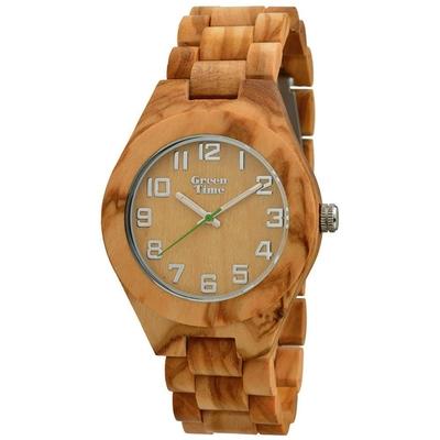 Montre en bois pour homme GreenTime ZW058A