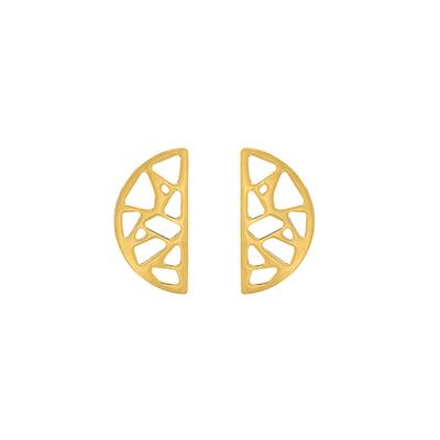 Bijoux Les Georgettes : Boucles d'oreilles Girafe finition or 703188819