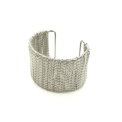 Bijoux Acier : Bracelet manchette en acier AC1186BR