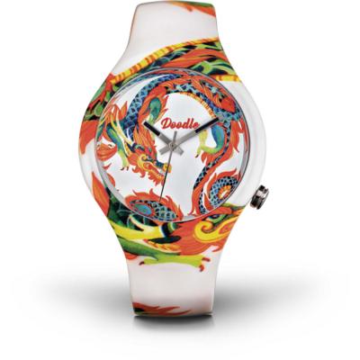 Montre Doodle Watch Dragon Blanc