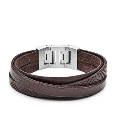 Bracelet en cuir casual vintage par FOSSIL JF02999040
