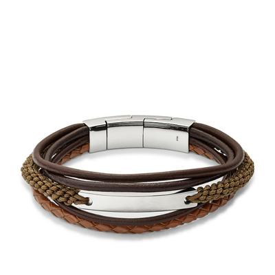 Bracelet en cuir casual vintage par FOSSIL JF02703040