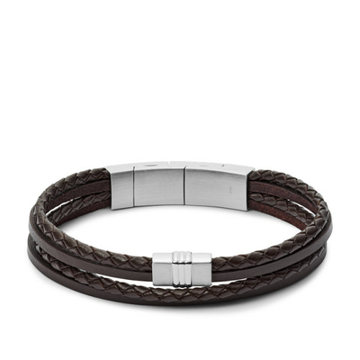 Bracelet en cuir casual vintage par FOSSIL JF02934040