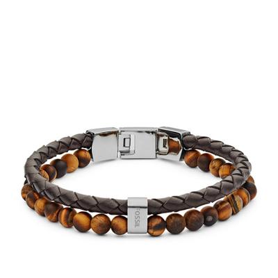 Bracelet en cuir casual vintage par FOSSIL JF03118040