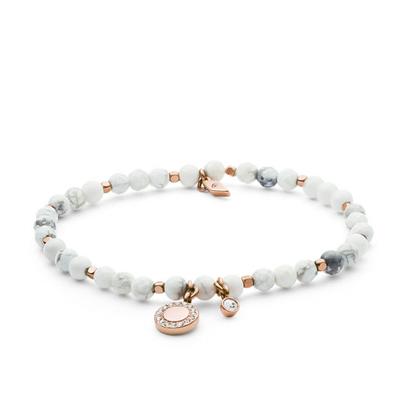 Bracelet en Howlite FOSSIL JA6934791
