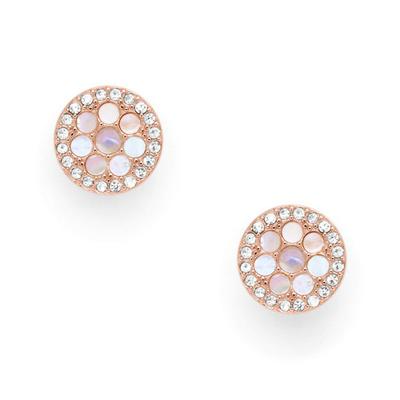 Boucles d'oreilles en nacre FOSSIL JF02906791