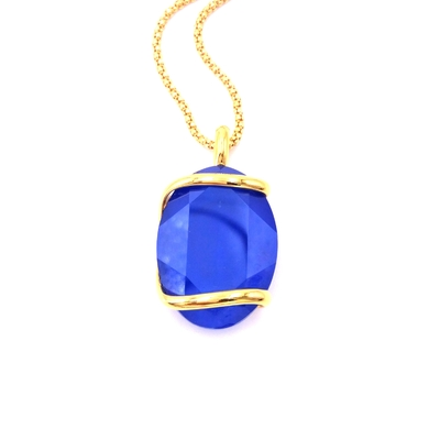 Collier cristal Swarovski - Andrea MARAZZINI - Collection Royal bleu