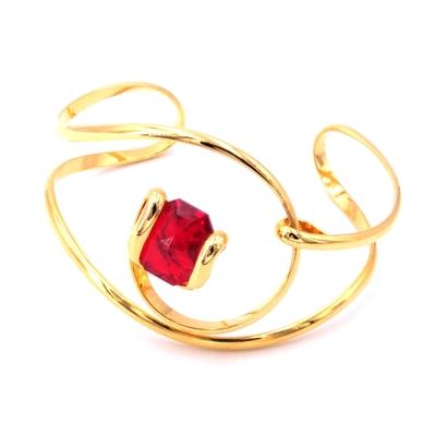 Bracelet cristal Swarovski - Andrea MARAZZINI - BRA1 ROUGE DORE
