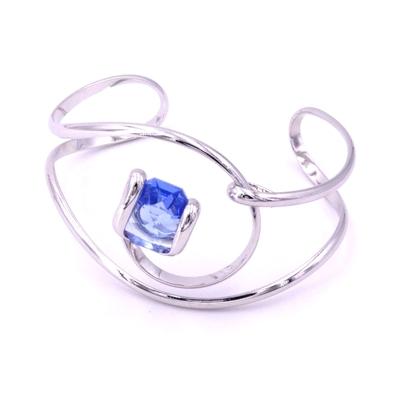 Bracelet cristal Swarovski - Andrea MARAZZINI - BRA1 BLEU CIEL RH