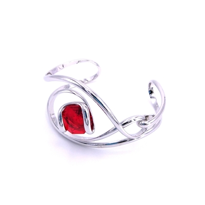 Bracelet cristal Swarovski - Andrea MARAZZINI - BRA2 ROUGE RH