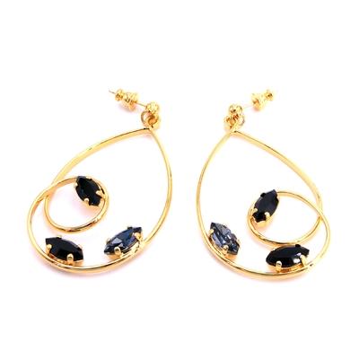 Boucles d'oreilles Cristal de Swarovski - Andréa Marazzini - DBONAVETTE
