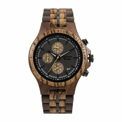 Montre en bois GreenTime ZW126A