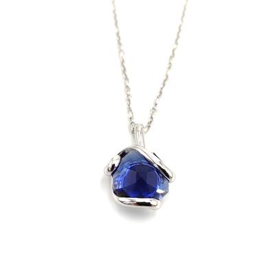 Collier cristal Swarovski - Andrea MARAZZINI - SIMPLE BLEU SAPHIR RH