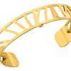 bracelet femme les georgettes plaqué or jaune 7026162f2 14mm-lombartbijoux.com