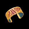 Bracelet manchette Perroquet Les Georgettes by Altesse 702744401 25 mm