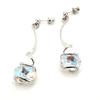 Boucles d'oreilles cristal Swarovski - Andrea MARAZZINI - E2 BLANC AB RH