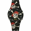 Montre Doodle Watch Pirates Skull rouge