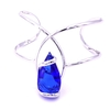 Bracelet cristal Swarovski - Andrea MARAZZINI - Collection Florence bleu majestic