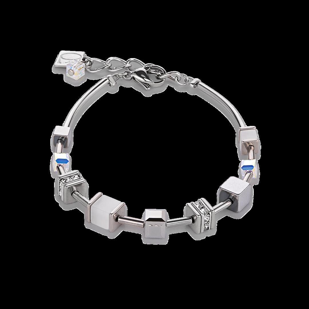 bracelet fantaisie swarovski femme coeur de lion 4893/30-1400-lombartbijoux.com